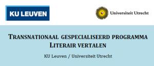 Masteropleiding literair vertalen