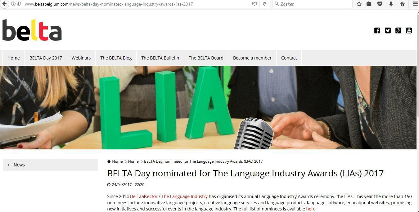 BELTA campaign post